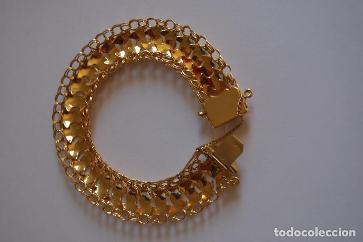 Joyeria: Preciosa Pulsera modelo Princesa de Oro de 18 Kt. - Foto 5 - 171962792