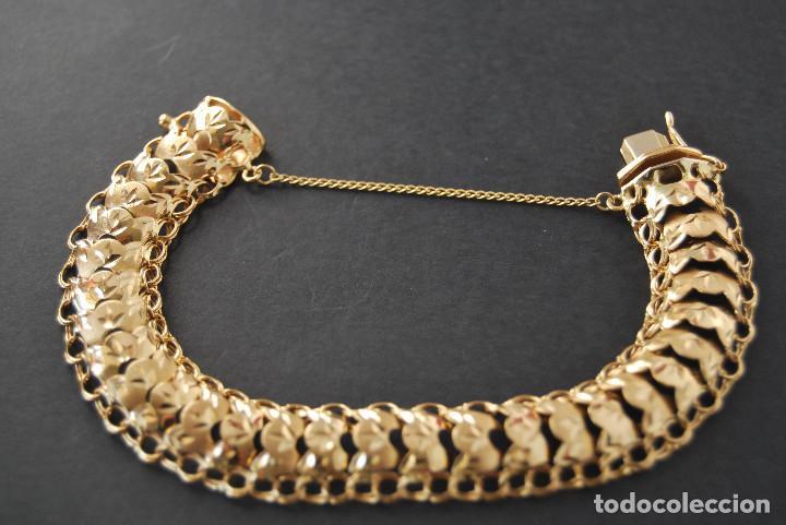Joyeria: Preciosa Pulsera modelo Princesa de Oro de 18 Kt. - Foto 7 - 171962792