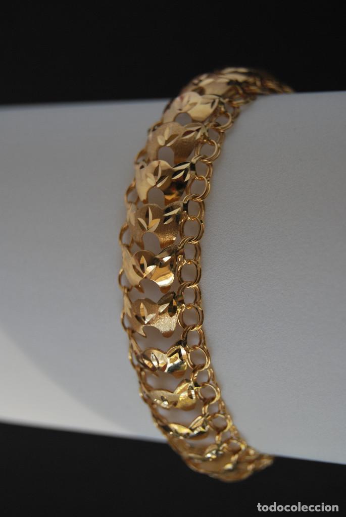 Joyeria: Preciosa Pulsera modelo Princesa de Oro de 18 Kt. - Foto 8 - 171962792