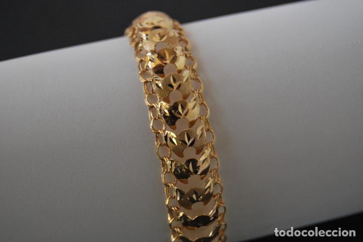 Joyeria: Preciosa Pulsera modelo Princesa de Oro de 18 Kt. - Foto 9 - 171962792