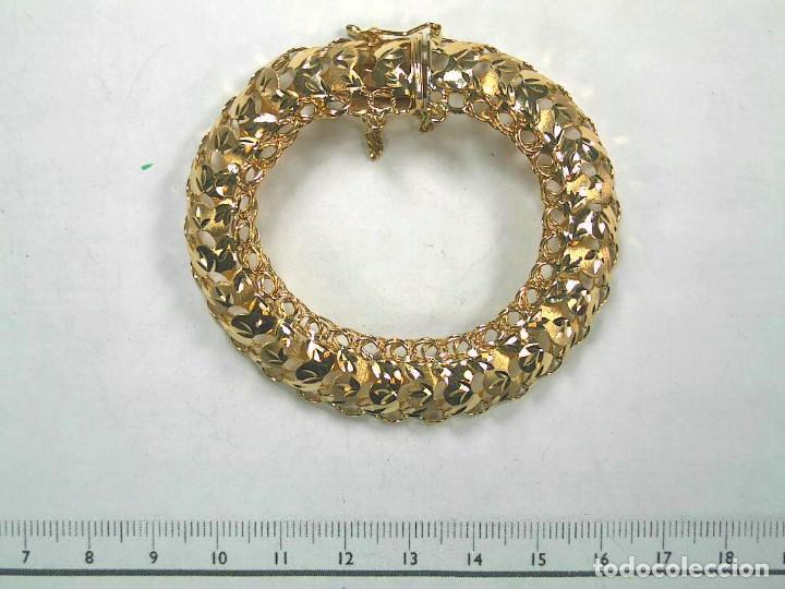 Joyeria: Preciosa Pulsera modelo Princesa de Oro de 18 Kt. - Foto 11 - 171962792