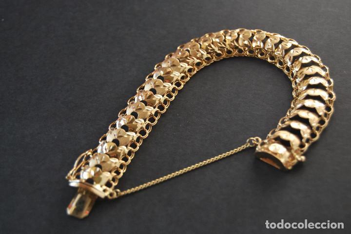 Joyeria: Preciosa Pulsera modelo Princesa de Oro de 18 Kt. - Foto 14 - 171962792