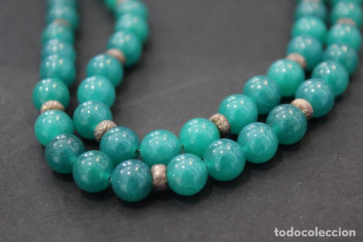 Joyeria: Collar en plata plata 833 MARCADO CON CONTRASTE y jade - Foto 9 - 55120248