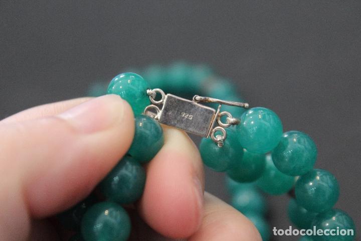 Joyeria: Collar en plata plata 833 MARCADO CON CONTRASTE y jade - Foto 11 - 55120248