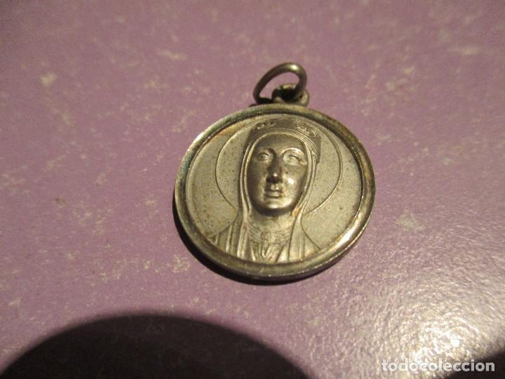 Joyeria: medalla plata de ley virgen de montserrat - Foto 2 - 77435173