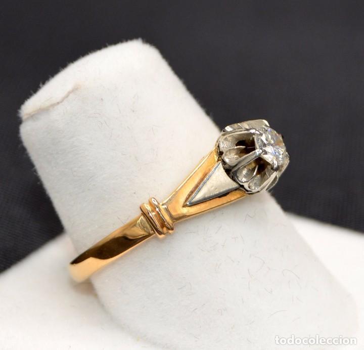 Joyeria: Hermosa sortija Solitario de en oro 18k Platino Diamonds Engagement - Foto 2 - 77463901