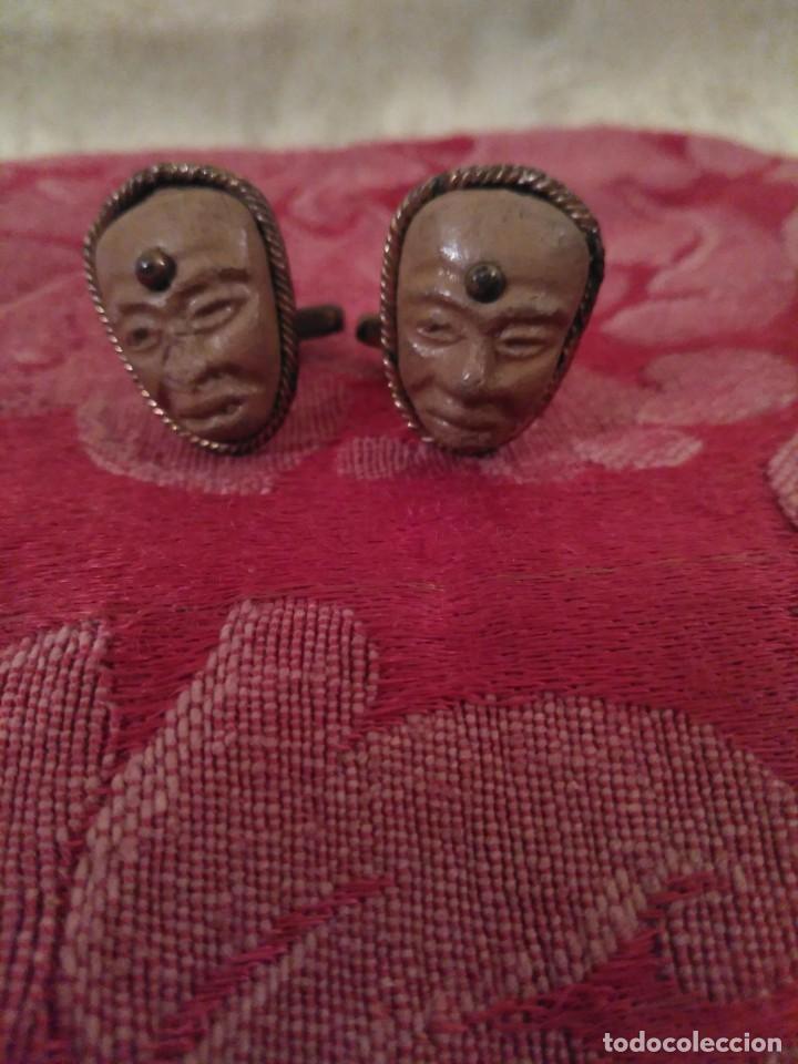 Joyeria: Originales gemelos antiguos - Foto 2 - 77920405