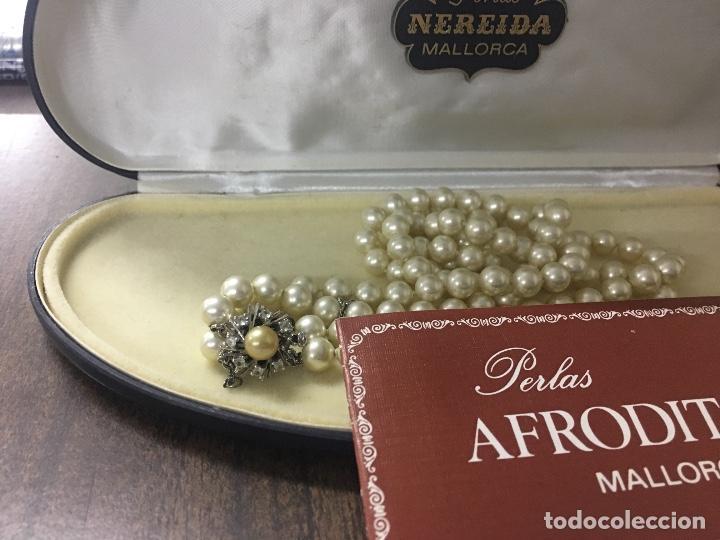 261aa9ecada9 Collar de perlas mallorca años 70 con cierre de - Vendido en Subasta ...