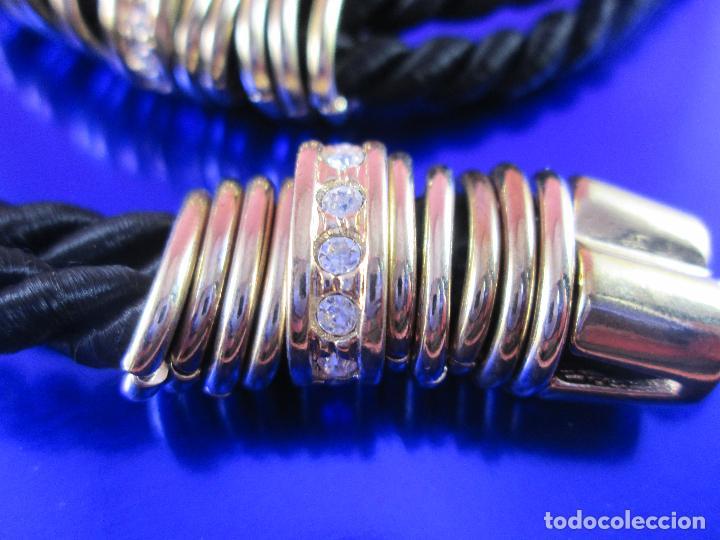 Joyeria: juego de collar y pulsera-artesanal-bisutería-piedras-ver fotos - Foto 2 - 80365085
