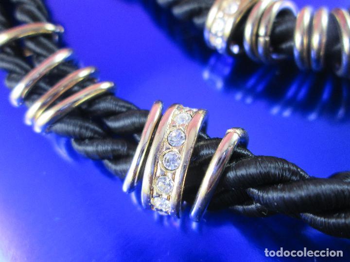 Joyeria: juego de collar y pulsera-artesanal-bisutería-piedras-ver fotos - Foto 4 - 80365085