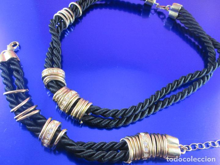 Joyeria: juego de collar y pulsera-artesanal-bisutería-piedras-ver fotos - Foto 5 - 80365085