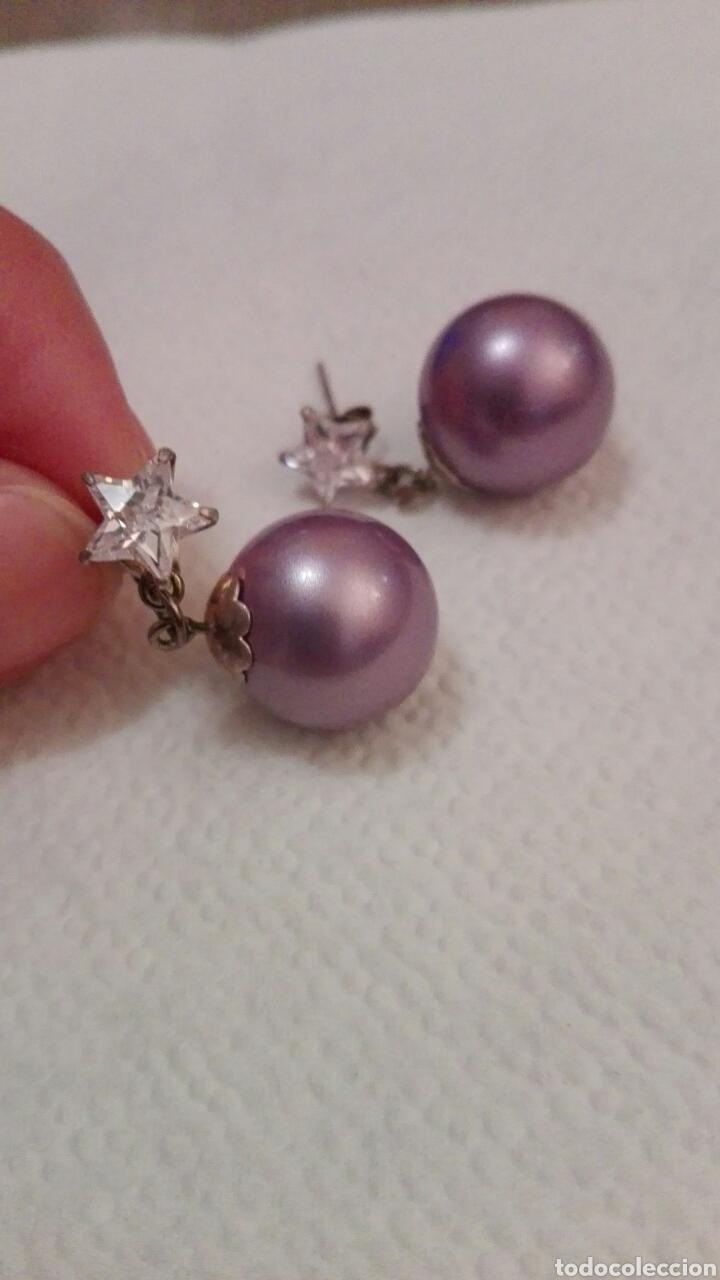 Joyeria: Pendientes en plata,perla y circonita,nuevos - Foto 2 - 80535929