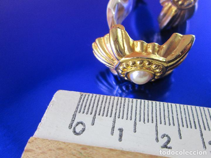 Joyeria: pendientes-bisutería-baño de oro-perlas?-buen estado-ver fotos. - Foto 6 - 81047540