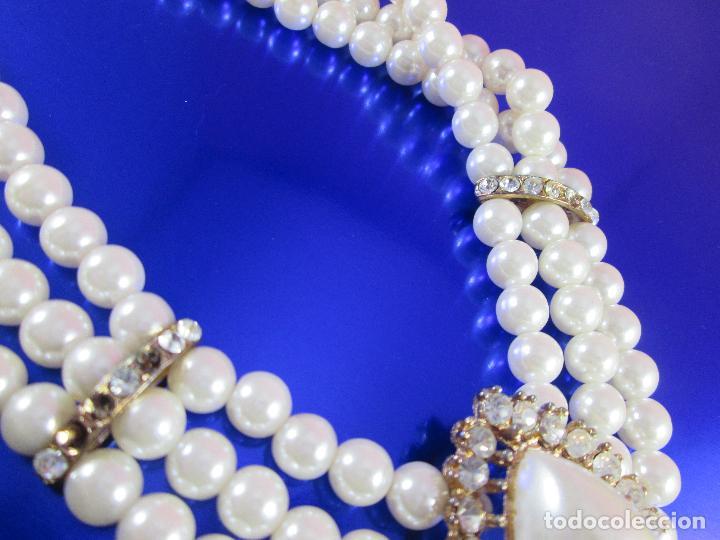 Joyeria: collar-perlas-bisutería?-precioso-ver fotos - Foto 8 - 81093672