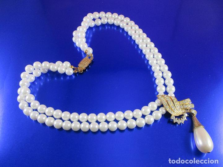 sitio de buena reputación 07b6e 2b408 collar-perlas-bisutería?-ver fotos