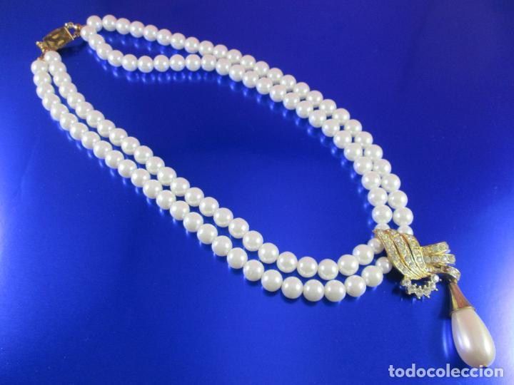 Joyeria: collar-perlas-bisutería?-ver fotos - Foto 2 - 81146368