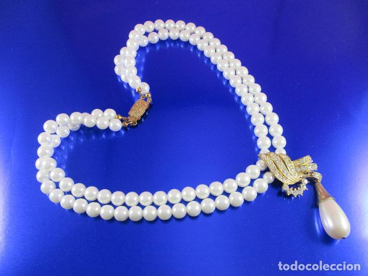 Joyeria: collar-perlas-bisutería?-ver fotos - Foto 3 - 81146368