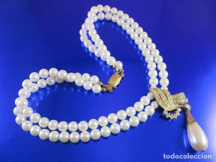 Joyeria: collar-perlas-bisutería?-ver fotos - Foto 5 - 81146368