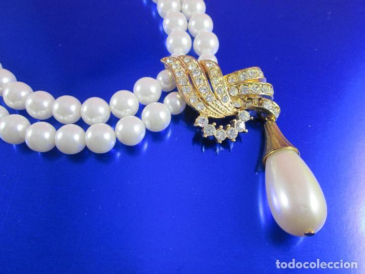 Joyeria: collar-perlas-bisutería?-ver fotos - Foto 6 - 81146368