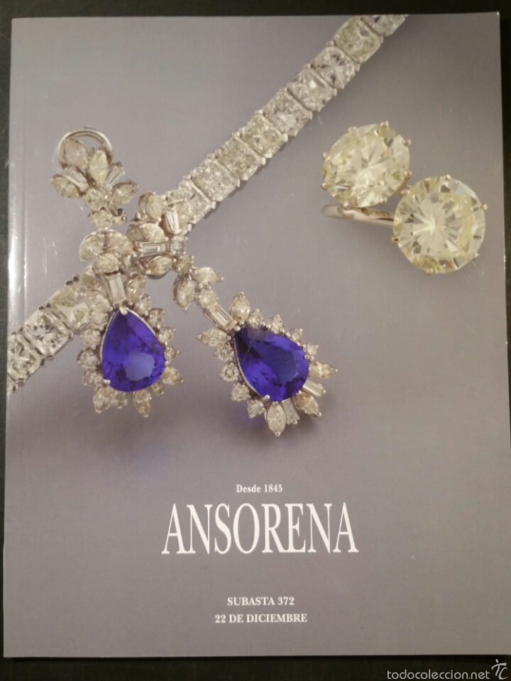Cat logo subasta 372 ansorena joyas antiguas di comprar - Bonanova subastas catalogo ...
