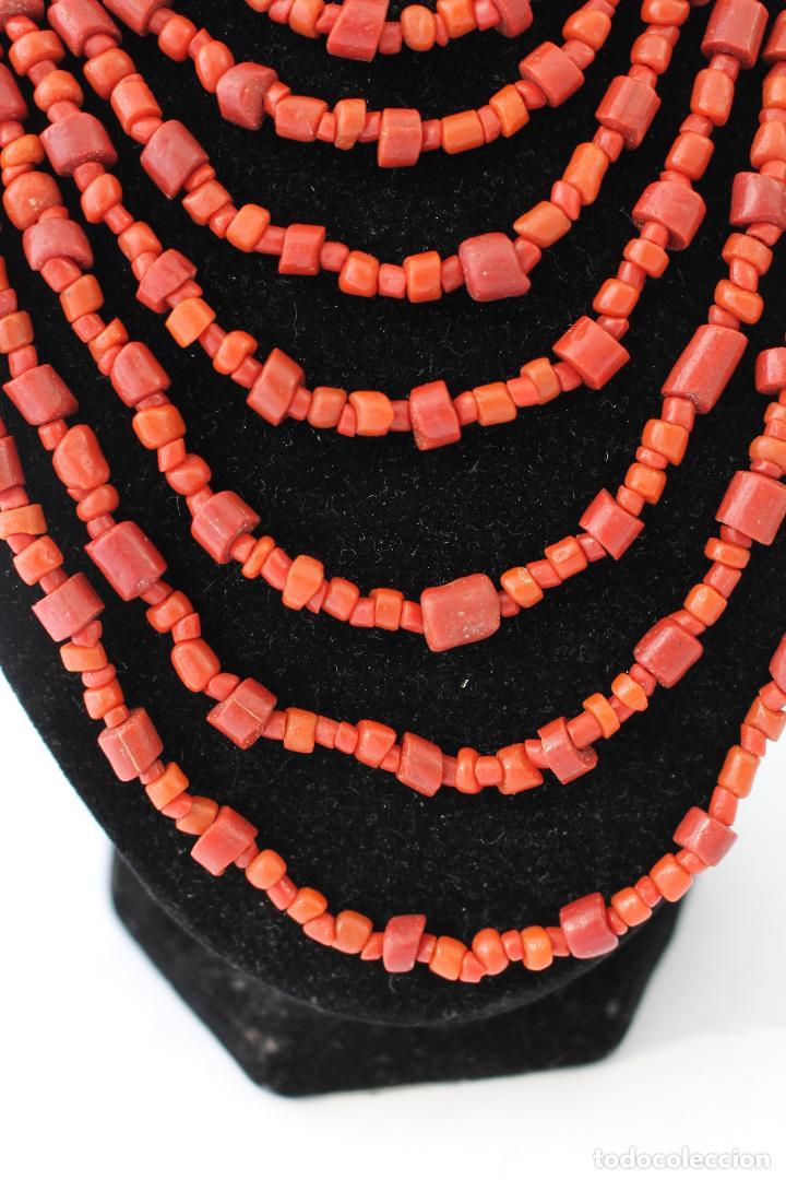 Joyeria: collar rojo y plata nepali - Foto 5 - 91030442