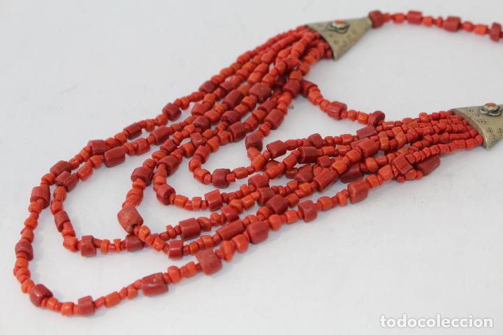 Joyeria: collar rojo y plata nepali - Foto 7 - 91030442