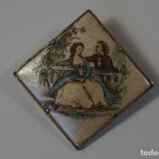 Joyeria: BROCHE BISUTERI TEMATICA ROMANTICA (AÑOS 50). Lote 82096456