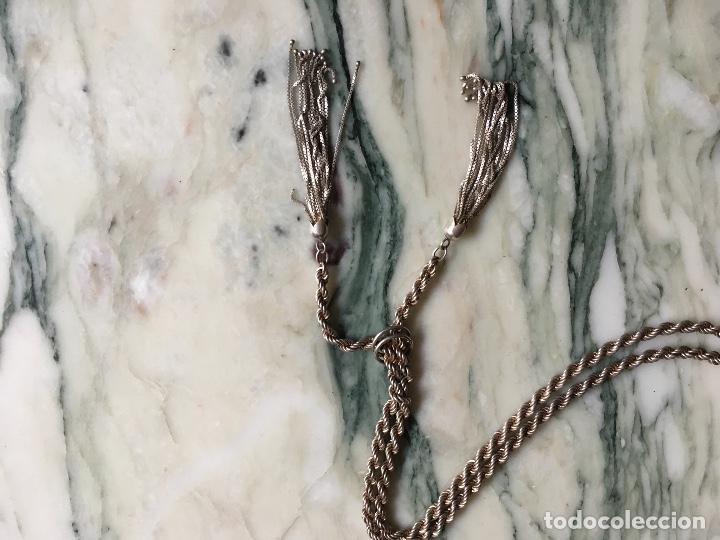 Joyeria: Cordón salomónico plata de ley con flecos - Foto 3 - 83675584