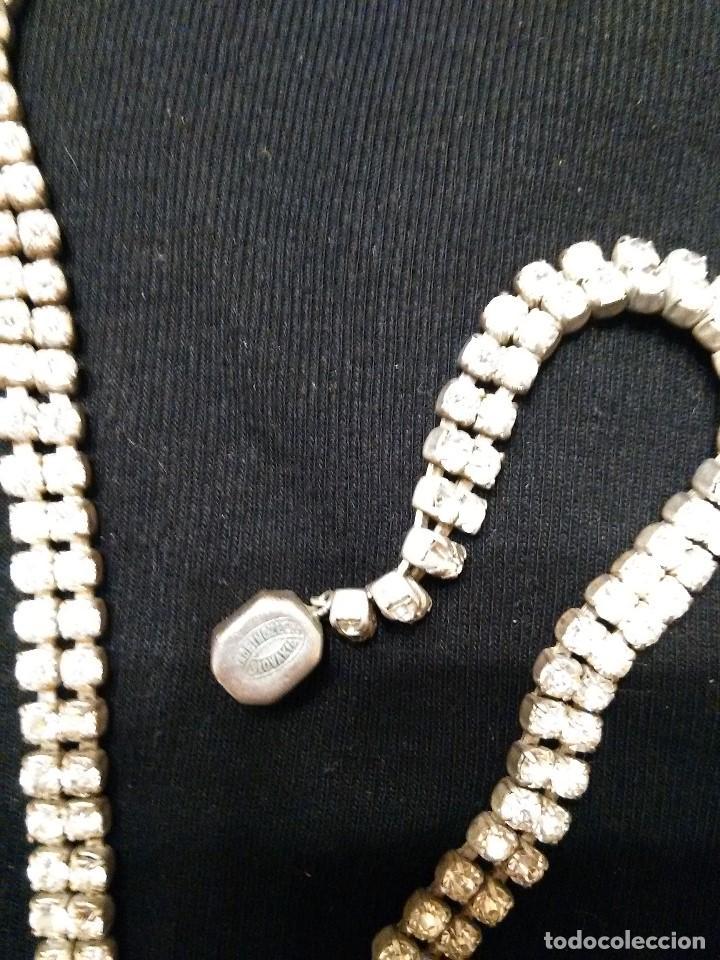 Joyeria: collar y pendientes cristal checo años 50 - Foto 3 - 86628568