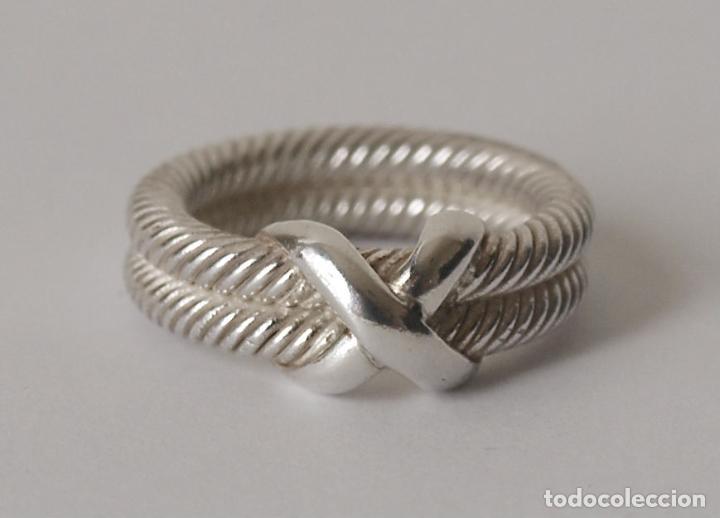 ff3b67ad6bf2 anillo de plata maciza en forma de cordoncillo - Comprar Anillos ...