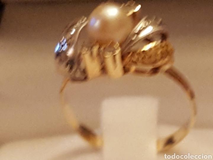 Joyeria: Anillo perla oro 18k, - Foto 2 - 87033298