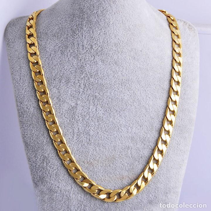 0f0b95896e87 cadena de oro laminado de 18 kilates vintage - - Kaufen Antike ...