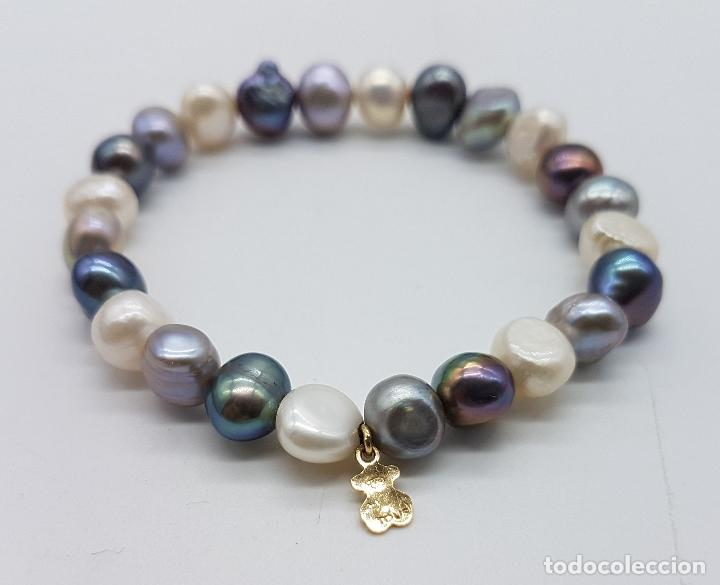 a6ce22d5da73 Pulsera tous autentica de perlas barrocas y dij - Sold through ...
