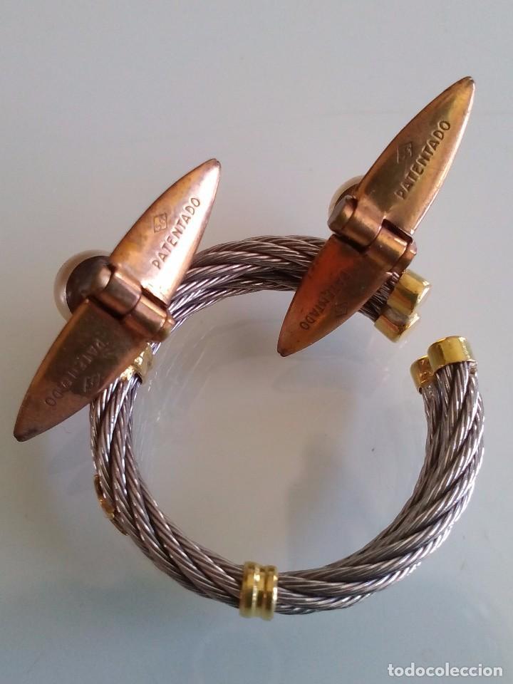 Joyeria: Antiguos gemelos dorados y perla - Foto 5 - 90041856