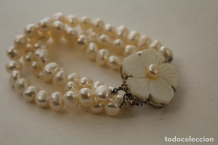 Joyeria: pulsera tres vueltas con perlas cultivadas - Foto 4 - 100019938