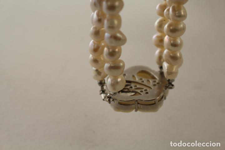 Joyeria: pulsera tres vueltas con perlas cultivadas - Foto 6 - 100019938