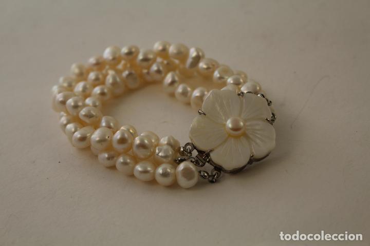 Joyeria: pulsera tres vueltas con perlas cultivadas - Foto 7 - 100019938