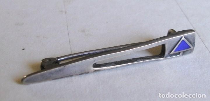Joyeria: broche de plata de ley 800 , hecho a mano (4,3x0,7cm aprox) - Foto 4 - 93376695