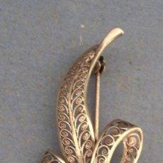 Jewelry - broche en filigrana de plata 835 (5,5x2,2cm aprox) - 94126455