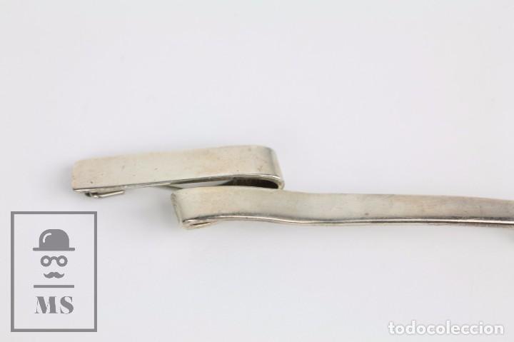 Joyeria: Broche / Alfiler de Plata 930 - C. Codina - Marcas de Contraste - Largo 12 cm - Foto 2 - 94795035