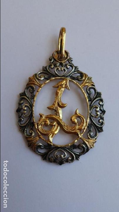Joyeria: Colgante de plata con una L de 4,2 x 3,3 cms 925 en lo de colgar - Foto 2 - 95161079