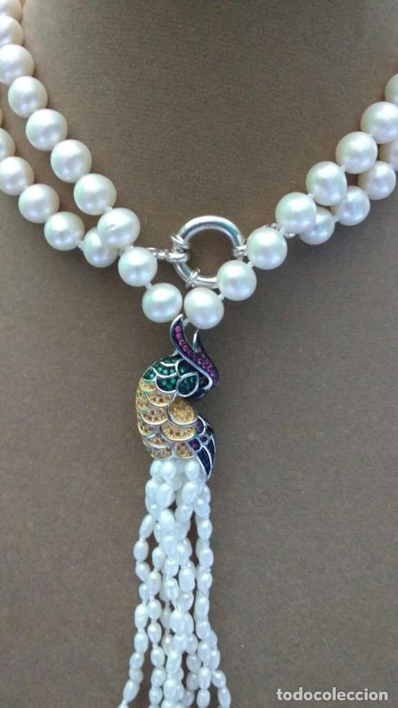 Joyeria: Collar perla con loro. - Foto 2 - 95363195