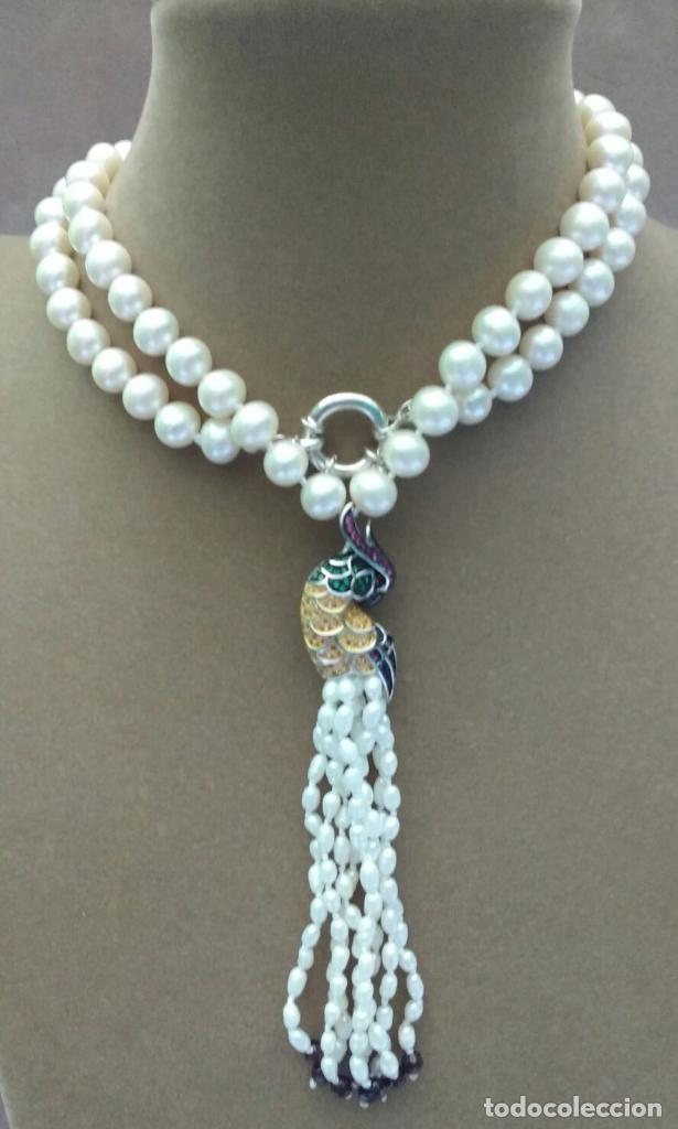 Joyeria: Collar perla con loro. - Foto 3 - 95363195