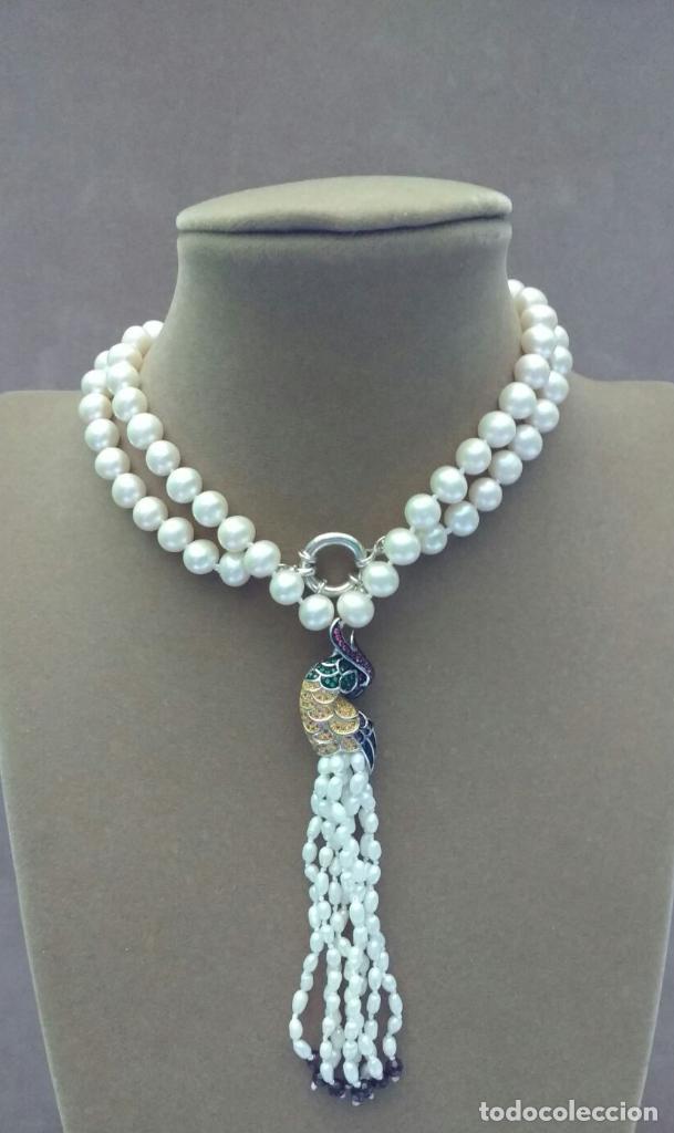 Joyeria: Collar perla con loro. - Foto 4 - 95363195