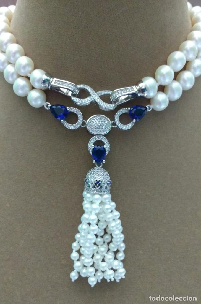 Joyeria: Collar gargantilla de perla. - Foto 2 - 95370023