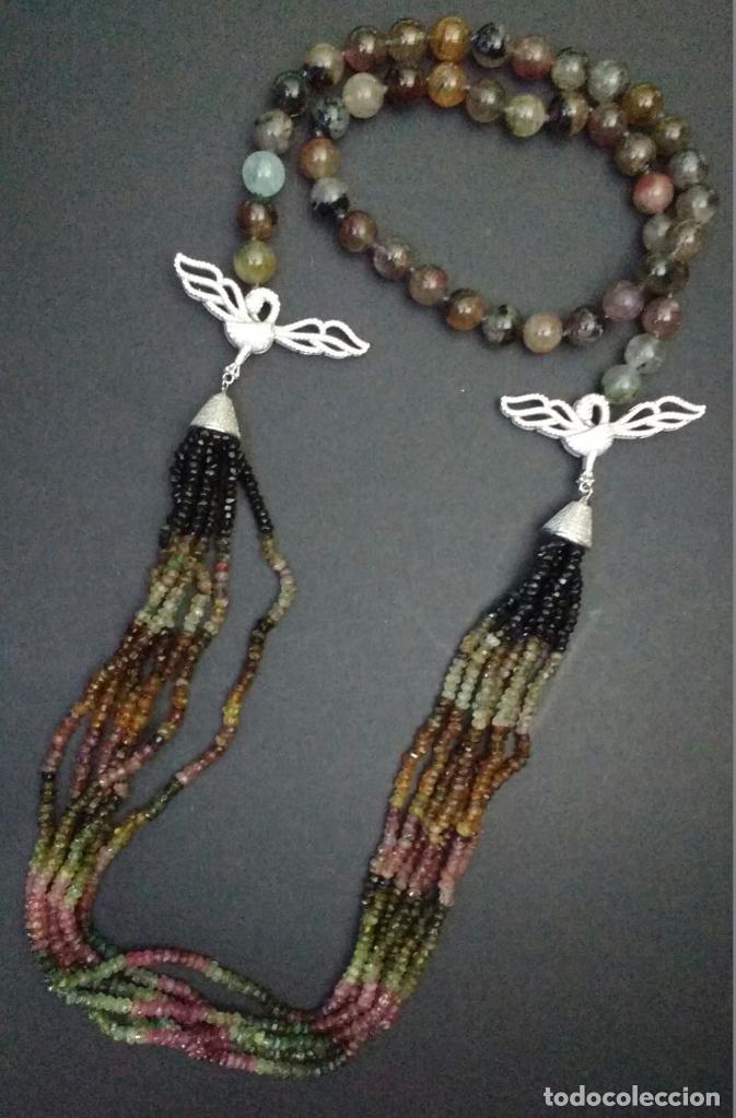 Joyeria: Collar ùnico de turmalinas. - Foto 2 - 95374219