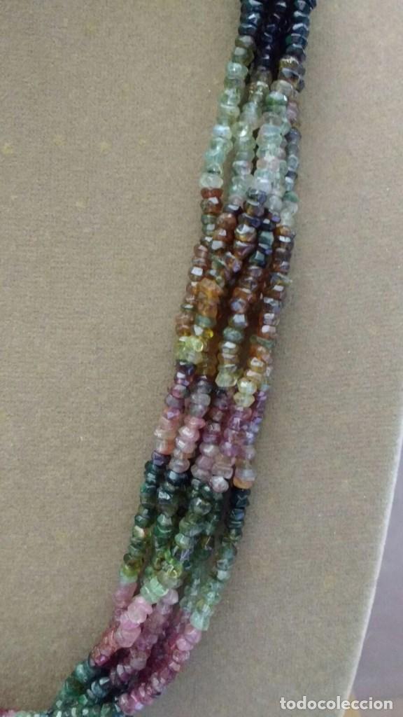Joyeria: Collar ùnico de turmalinas. - Foto 3 - 95374219
