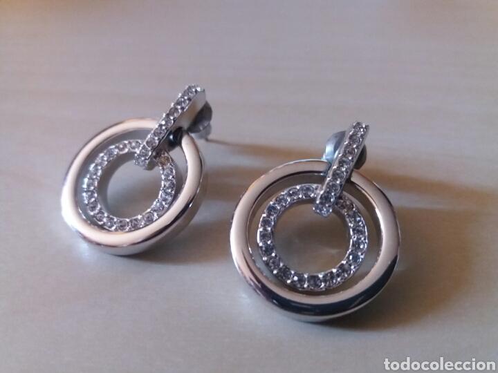fa79194465a6 pendientes swarovski - Buy Antique Earrings at todocoleccion - 95773239
