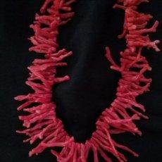 Joyeria - Collar de ramas de coral rojo - 95872435