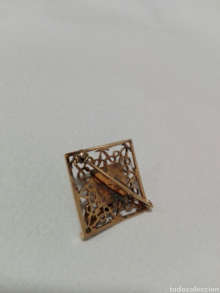 Joyeria: Broche plata chapado oro - Foto 3 - 95952339